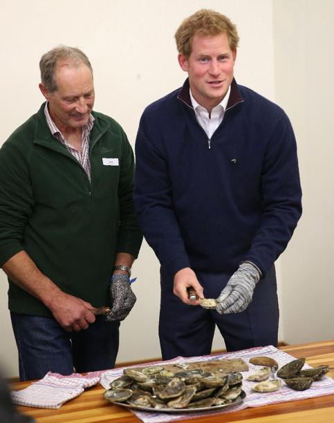 My brother Jim with HRH Prince Harry
